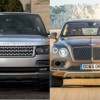Новый Bentley Bentayga против давнего чемпиона SUV, Range Rover.